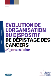 Evolution organisation dispositf de depistage