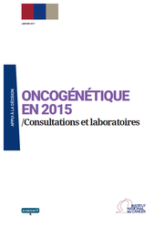Oncogenetique en 2015 - Consultations et laboratoi