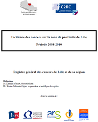 Rapport incidence 2014