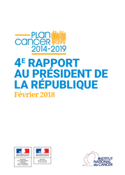 4eme Rapport Plan Cancer Fev 2018