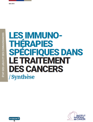 Les immunotherapies Synthese